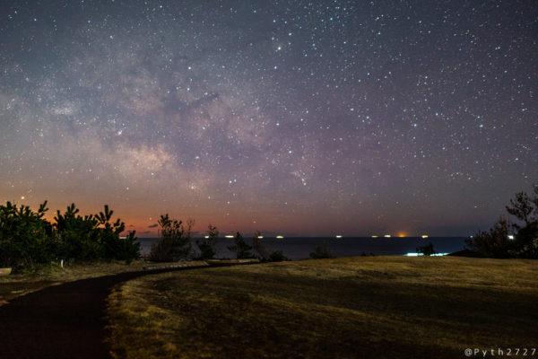 安乗岬園地の星空