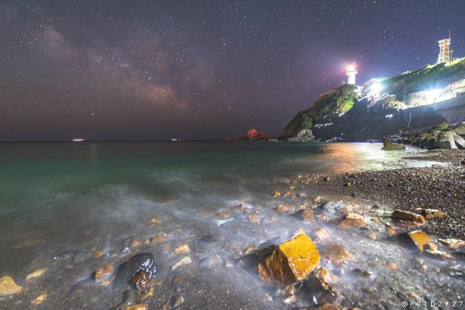 大王埼灯台へ星空の撮影に行きました(三重県志摩市)