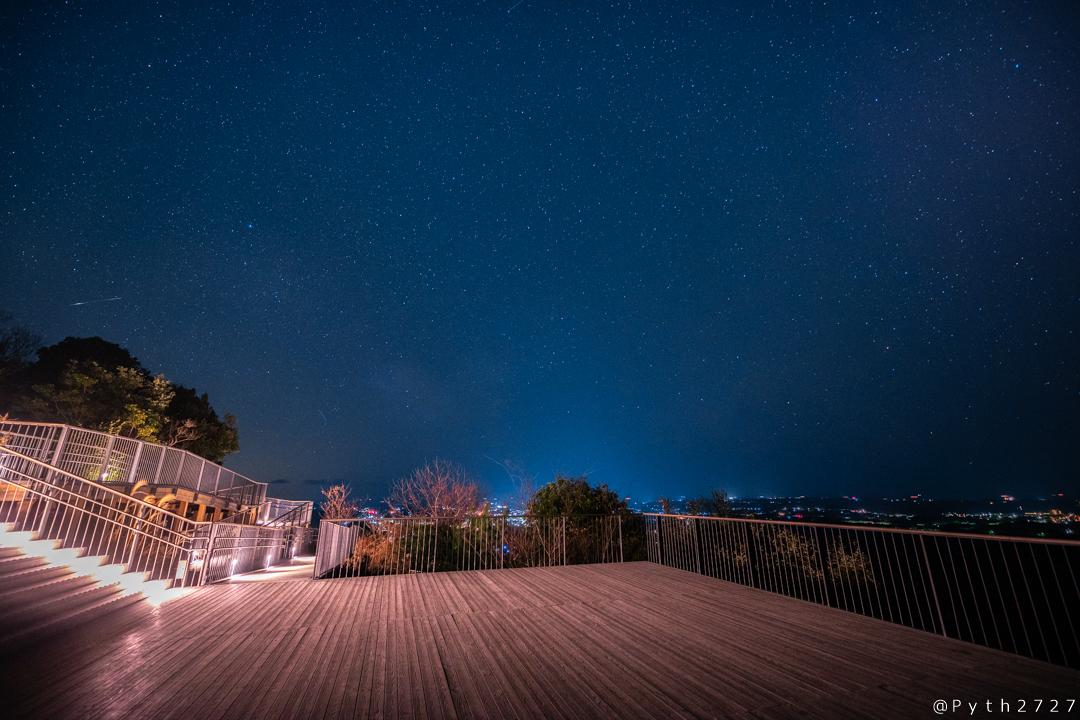 横山展望台の星空