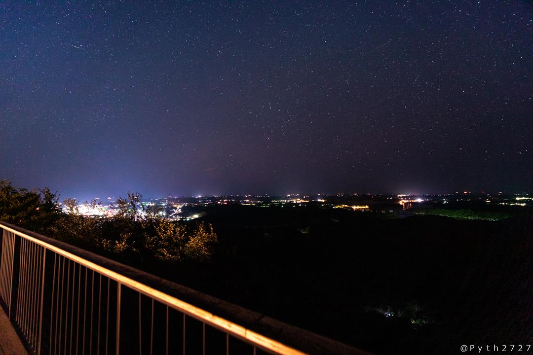 横山展望台の夜景