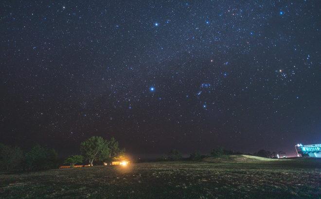 潮岬 望楼の芝へ星空の撮影に行きました(和歌山県串本町)