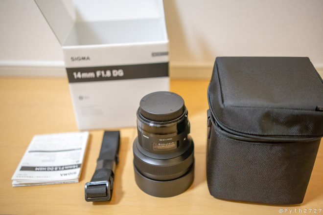 SIGMA 14mm F1.8 DG HSM ART カメラのキタムラ 中古 状態A