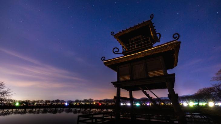 唐古・鍵遺跡史跡公園へ星空の撮影に行きました(奈良県田原本町)