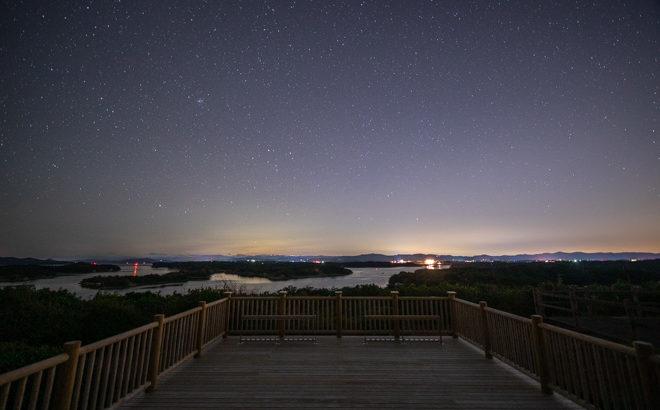 ともやま公園・桐垣展望台へ星空の撮影に行きました(三重県志摩市)
