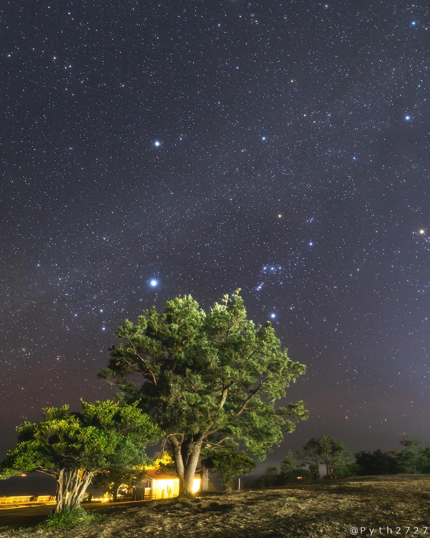 潮岬の星空