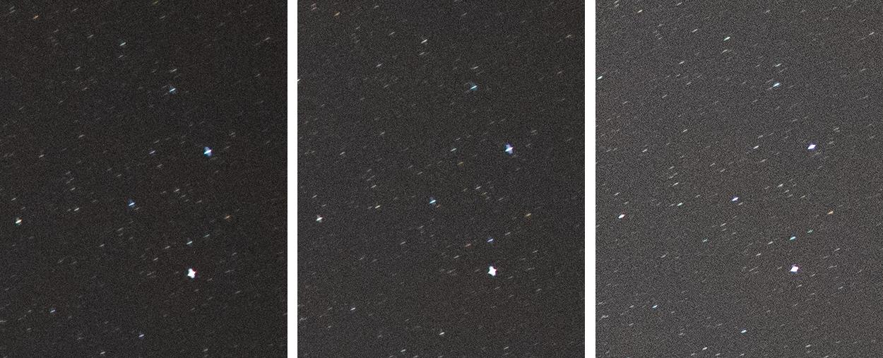 SIGMA 14mm F1.8 DG HSM ARTの四隅のコマ収差