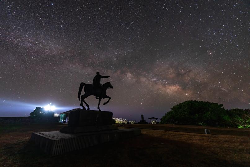 topaz Denoise Aiで処理した星景写真