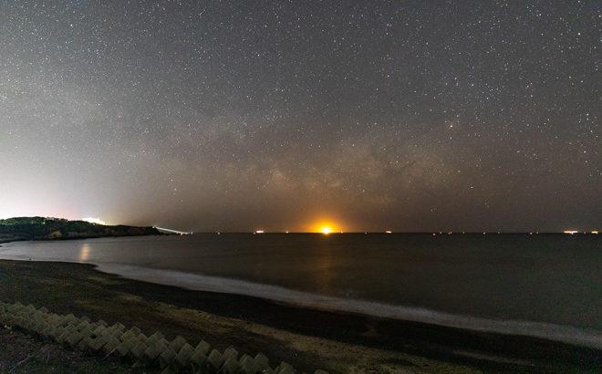 片田大野海岸(大野浜)へ星空の撮影に行きました(三重県志摩市)