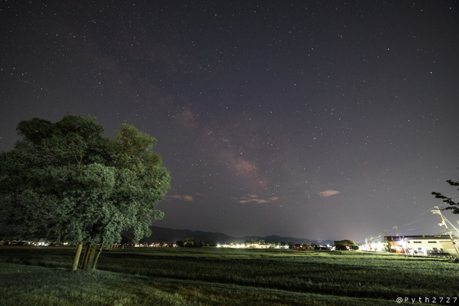 藤原宮跡 夜