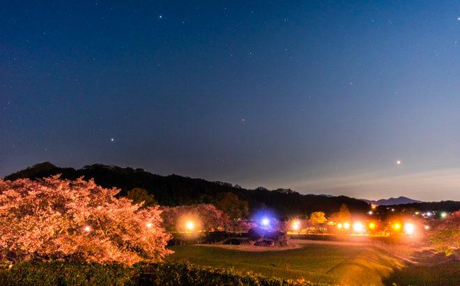 石舞台展望台へ星空の撮影に行きました(奈良県明日香村)