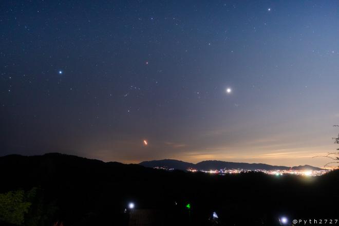 奥明日香天空展望台へ星空の撮影に行きました(奈良県明日香村)