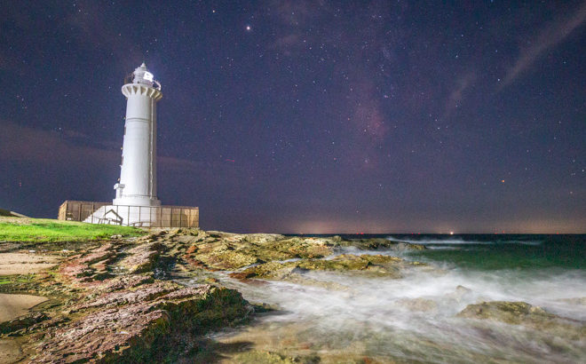 野間灯台へ星空の撮影に行きました(愛知県美浜町)