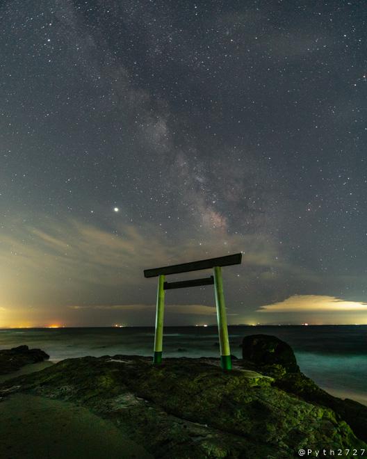 愛知県 知多半島 星空