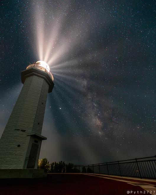 和歌山県 灯台 星空
