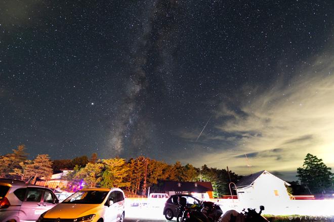 天の川と流星群