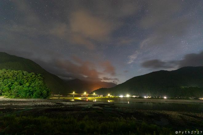道の駅 奥熊野古道ほんぐうの星空