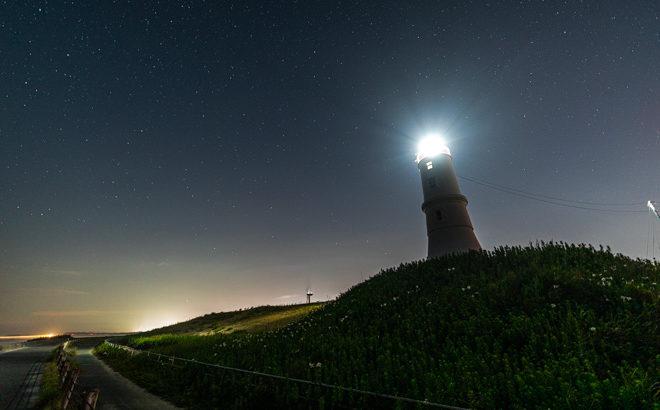 掛塚灯台へ星空の撮影に行きました(静岡県磐田市)
