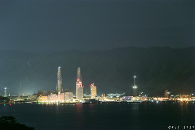 和歌山マリーナシティ 夜景