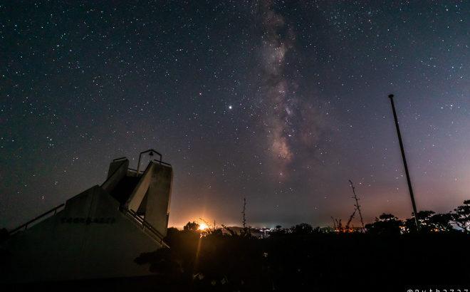 菅崎園地へ星空の撮影に行きました(三重県鳥羽市)