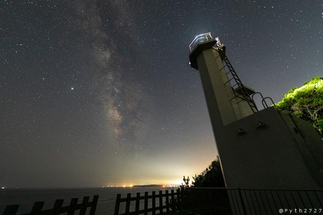 鎧埼灯台へ星空の撮影に行きました(三重県鳥羽市)