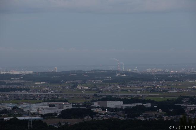 三重県民の森 展望台 景色