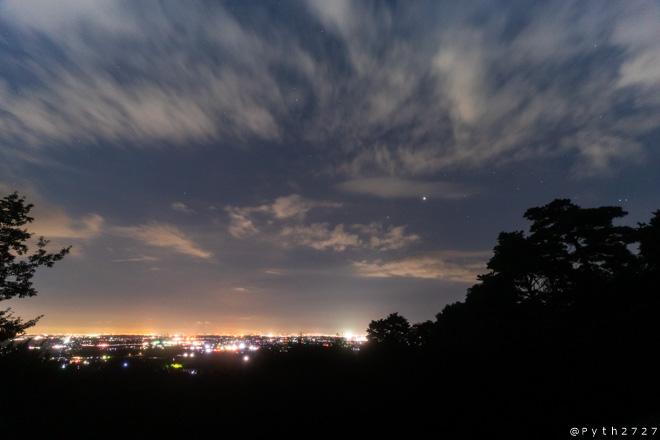 三重県民の森 夜