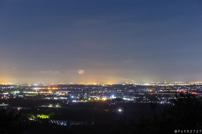 三重県民の森 夜景