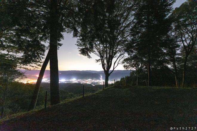 大撫山展望台 夜景