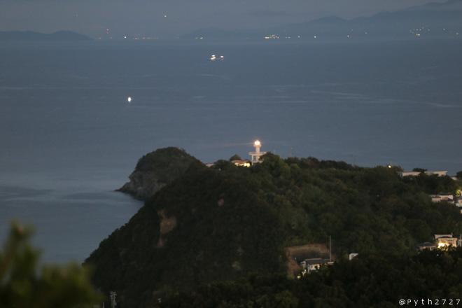 高津山 灯台