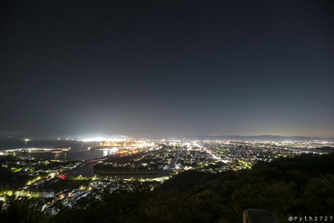 高津山 夜景