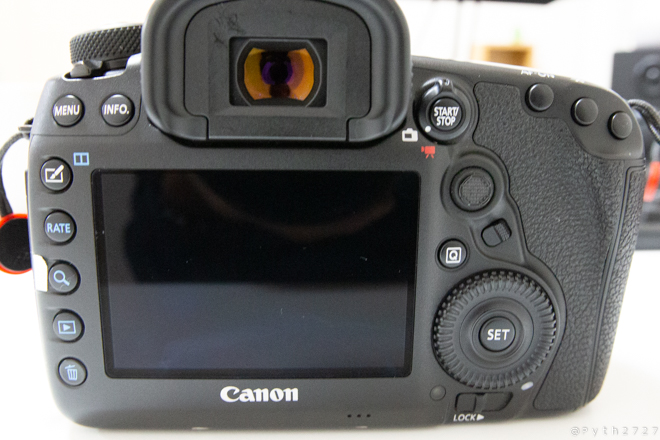 CANON EOS5DmarkⅣ ボタン