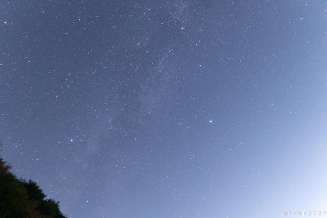 プロソフトンクリアで星空撮影、控えめで自然な効果(レビュー)