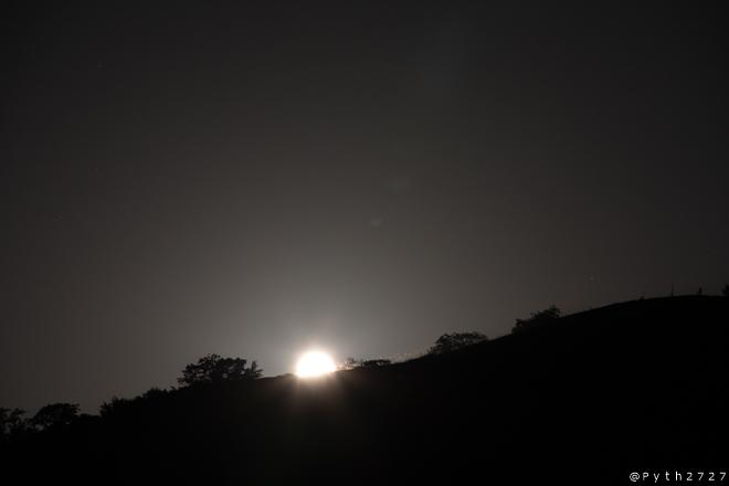 曽爾高原 満月