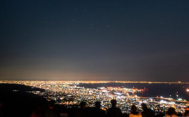 摩耶山 掬星台展望台へ星空と夜景の撮影に行きました(兵庫県神戸市)
