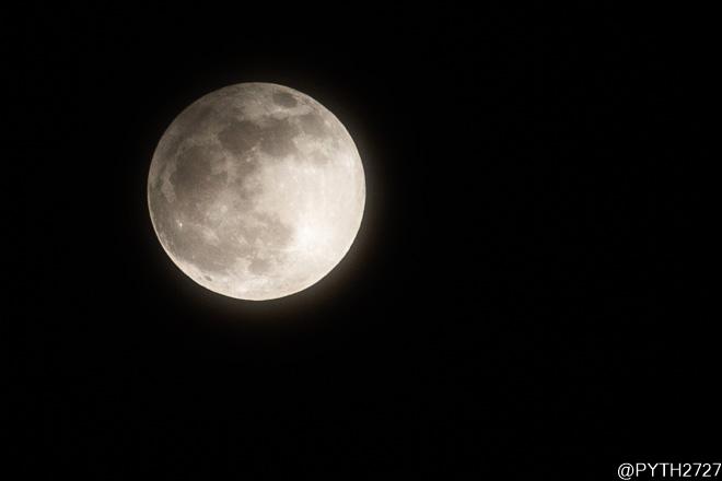 半影月食 ビーバームーン