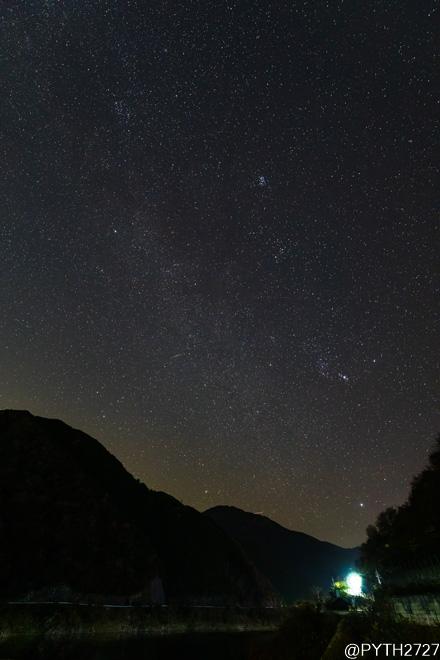 ふたご座流星群 奈良県