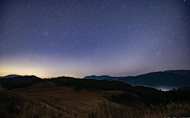 【2021年】奈良県で撮影した1月の夏の天の川