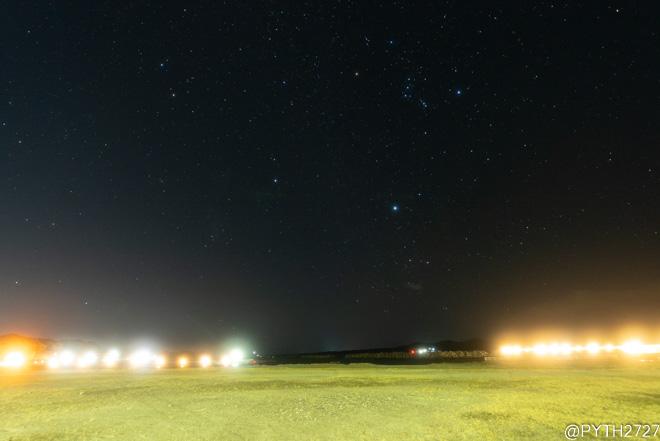 浜島海浜公園 夜