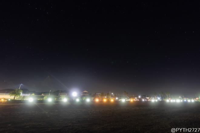 大矢浜 夜