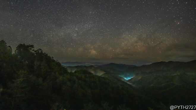 雲海景勝地・高野辻休憩所へ星空の撮影に行きました(奈良県野迫川村)