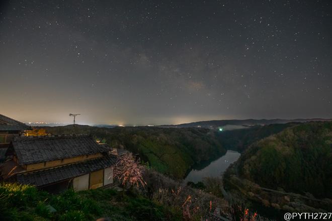 【2021】月ヶ瀬梅林と天の川を動画撮影しました(奈良県月ヶ瀬村)