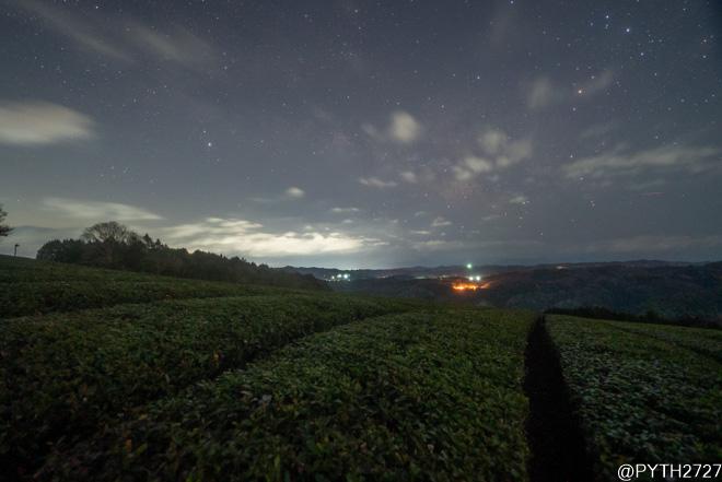 神野山 夜
