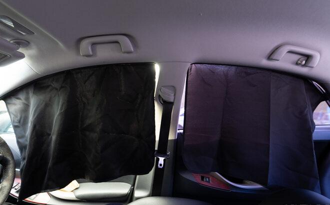 車内泊・仮眠にSEIWAの完全遮光カーテンを試してみた(レビュー)