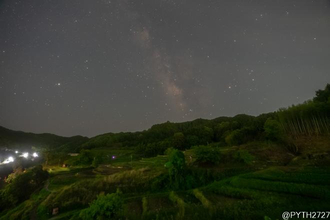 稲渕の棚田 夜