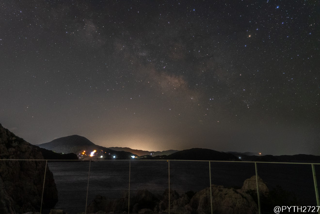 白崎海洋公園 夜景