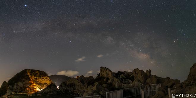 白崎海洋公園 夜