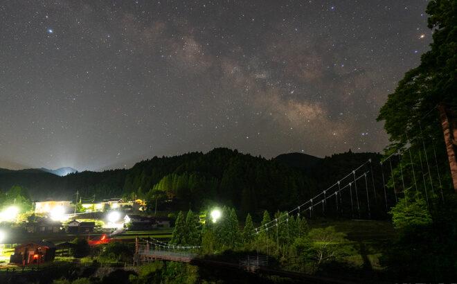 曽爾・蛍公園へ星空と天の川の撮影に行きました(奈良県曽爾村)