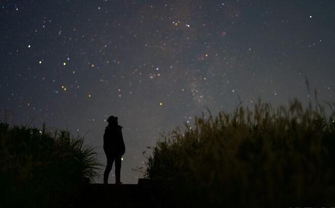 【動画】倉橋ため池の星空と天の川を動画撮影しました(奈良県桜井市)