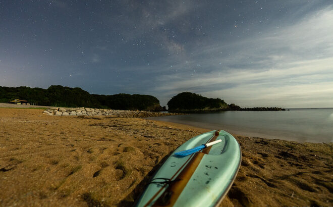 あづり浜へ星空の撮影に行きました(三重県志摩市)
