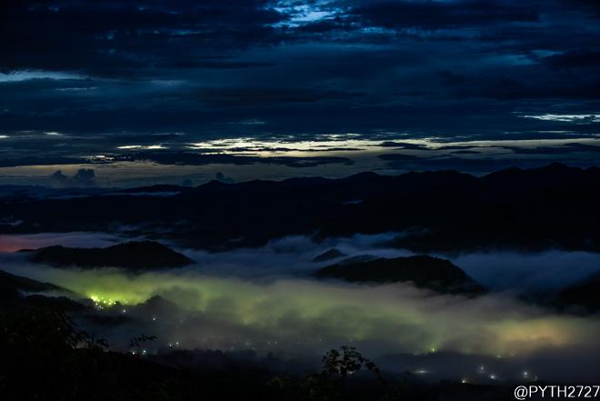奈良県 雲海